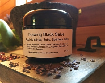Mountain Lilly Herbs Drawing Black Salve