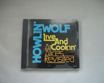 Howlin' Wolf Live And Cookin At Alice's Revisited CD