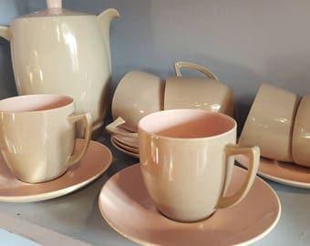 BRANKSOME CHINA 1950S coffee or tea set