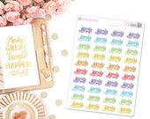 Family Time Stickers - Planner stickers, Icon Stickers, Event Stickers, Family Stickers,  Colorful Stickers, BuJo Stickers, Family Time