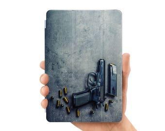 ipad pro 9.7 case smart case cover for ipad mini air 1 2 3 4 5 6 pro 9.7 12.9 retina display gun