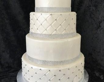 Faux/fake wedding cake