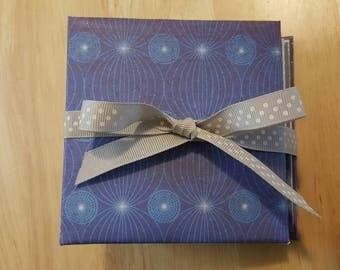 Blue Mini Photo Album