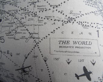 AIR TRAFFIC.Gift for Him.Pillows .Slip Cover.Military.Navy.AirForce.Man Cave Pillow Covers.Home Decor.Air traffic Controller.Airplane.Map