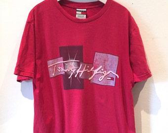 Tommy Hilfiger 90s T-Shirt - Red medium