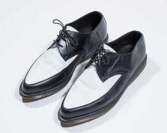 DR. MARTENS - bicolor shoes