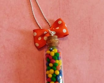 Gum balls necklace