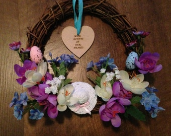 Easter Memory Wreath 8""