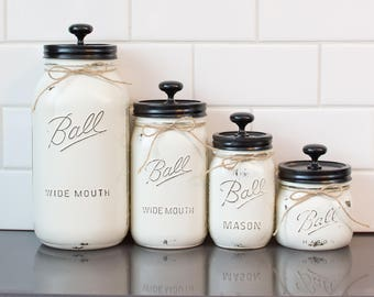 Clear Canister Set