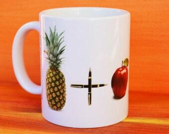 PPAP mug, youtube viral thread mug, PPAP song mug, new trend mug, Pen Pineapple Apple Pen Song mug, PPAP song, drinking mug, gift mug