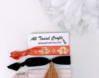 Tassel Elastic Hair Tie