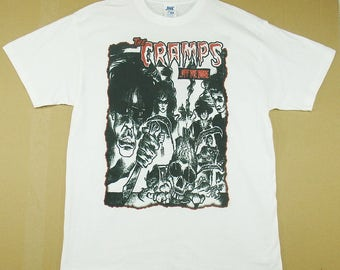 The Cramps Off The Bone, T-shirt 100% Cotton