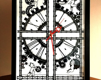"""Real wall clock Clock """"Clock"""" by Cozaz"""