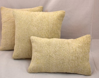 Vintage Pillow, Turkish Pillow, Kilim Pillow, Kelim Pillow, Anatolian Pillow, Cushion Cover, Vintage Cushion, Two Pillow Covers, 40 x 40 cm