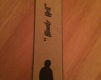 Harry Potter Bookmark Set - Ron, Harry and Hermione. Great Gift Set of 3.