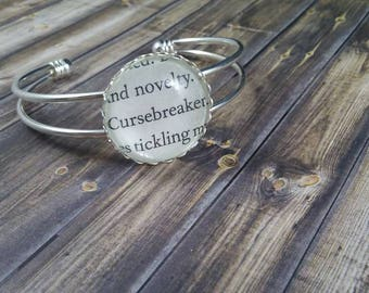 ACOTAR Series Book Page Bracelet