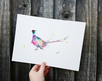 Effervescent Pheasant. A4. Whimsical.