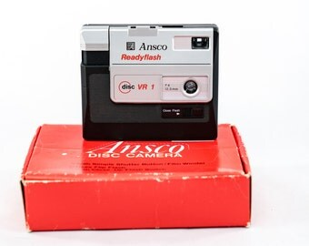 Ansco Ready Flash – Disc VR 1 Camera with 12.5mm f4 lens.