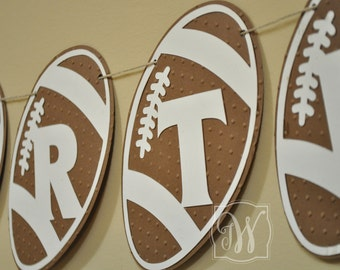 Football Birthday Party - Touch Down - Decor - Boy Birthday Party