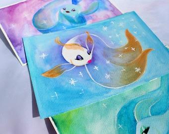 Goldfish Ballet // Set of 3 Prints