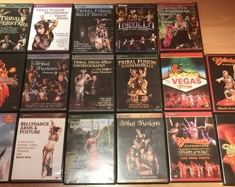 Bellydance Superstars original DVD x 14 set (used)