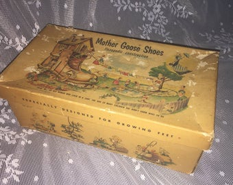 1954 Mother Goose Shoebox