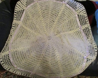 Round Crocheted Shawl