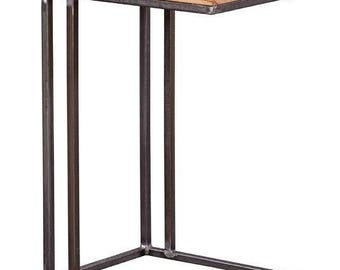 Reclaimed Barn Wood Accent Table