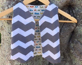 Child's reversable pattern vest