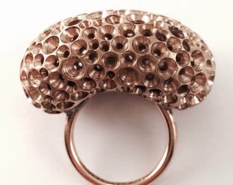 Maxi ring bubble bronz