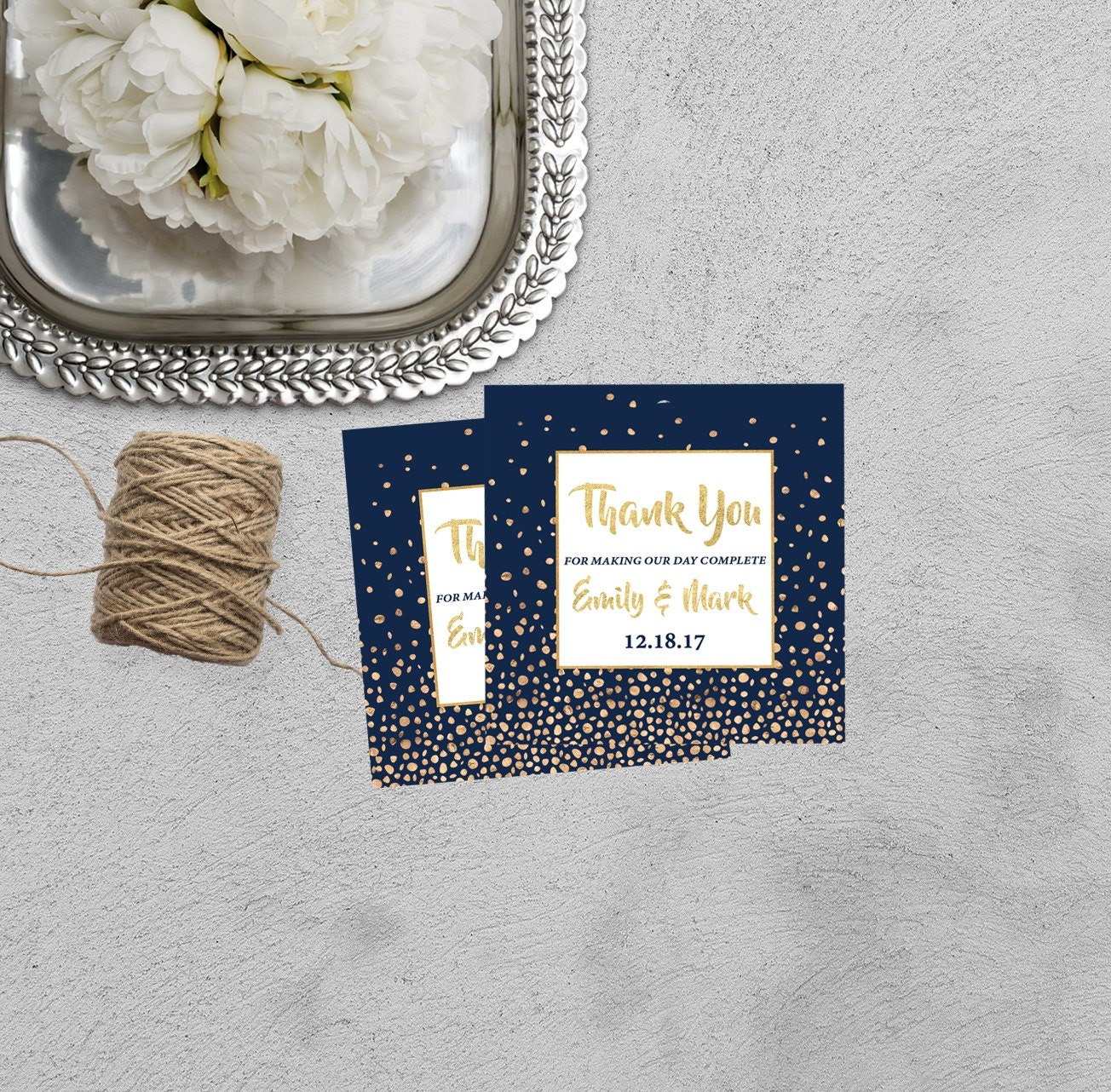 Wedding Thank You Tag, Printable Wedding Favor Tags, Wedding Gift ...
