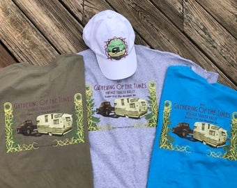 Official 'Gathering of the Times Vintage Trailer Rally 2017' T-shirts