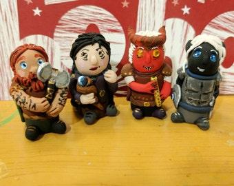 D&D Custom Chibi Minis