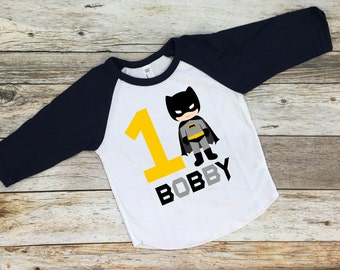 Batman Birthday Shirt. Batman Shirt. Batman Birthday. Batman Party. Custom Batman Shirt. Birthday Shirt.