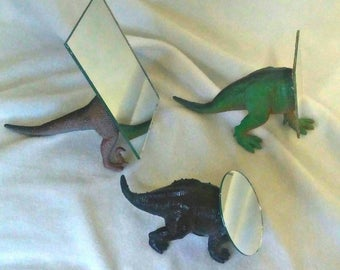 Dinosaur Vanity Make-up Mirror