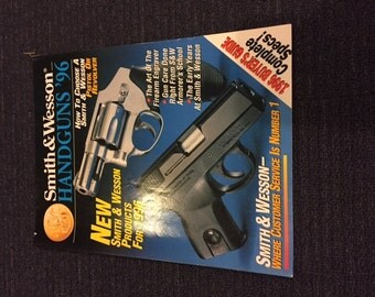 Vintage Smith and Wesson Product Catalog