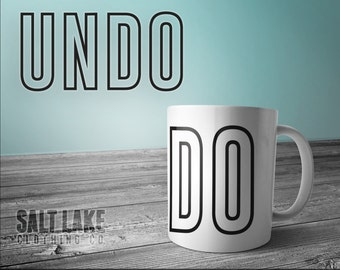 UNDO 11 oz Coffee Mug