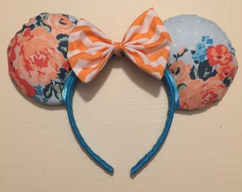 New***Limited**Think Spring Ears, Custom Mickey Ears, Disney Inspired Minnie Ears