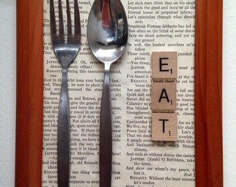 "Mixed Media Print ""Eat"""