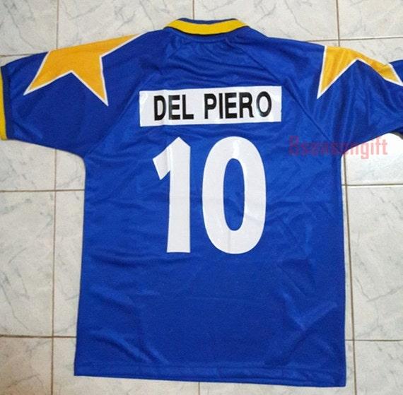 abe409b0e2c Juventus Away 1995 1996 DEL PIERO 10 Final Ucl by 8seasongift free shipping