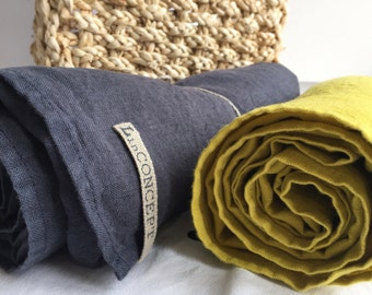 LINEN TOWEL BEACH sauna bath towel stone washed and softened from modern collection. Made by LinCONCEPT
