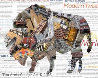 Buffalo #5 (Print)