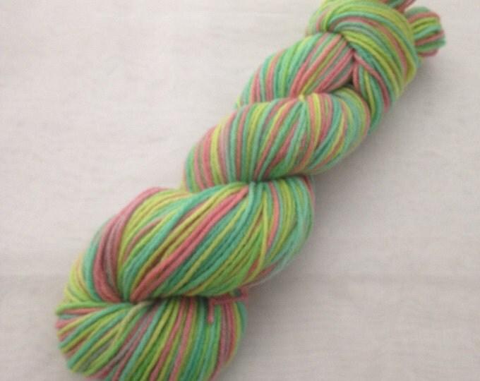 DK weight 100% Merino hand dyed yarn