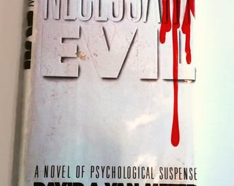 Necessary Evil by David A. Van Meter   Hardcover   1st Edition   Horror