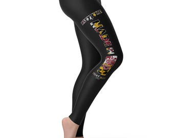 Made In MD Maryland Women's Leggings