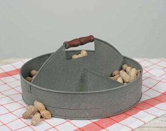 Serving tray | Farmhouse Decor | Metal Tins | Metal Decor | Metal Organizer | Farmhouse Kitchen Decor | Bathroom Storage