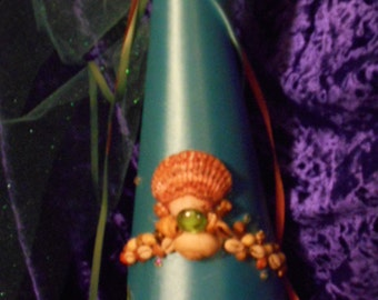 Seashell Princess Hat