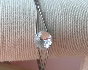 Swarovski Crystal 12mm Cuff