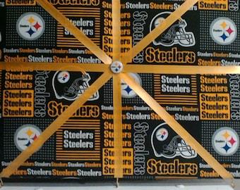 Pittsburgh Steelers themed memory/bulletin board