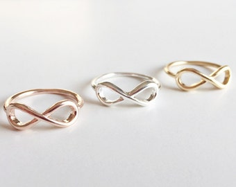 Infinity Rings Gold, Eternity Ring Gold